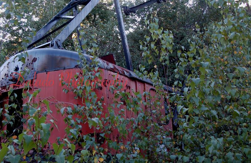 An old dragline.