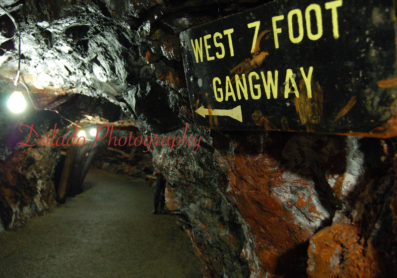 The Pioneer Tunnel is a horizontal drift mine in Ashland. The man gangway runs 1800 feet straight into the side of the Mahanoy Mountain. Philadelphia and Reading Coal and Iron Company owned and operated the mine from 1911 to 1931.