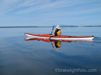 Kayaking to Savary Island