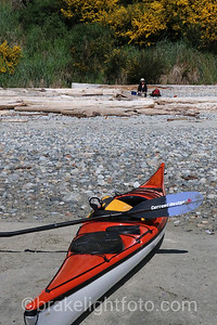 Kayaking Savary Island
