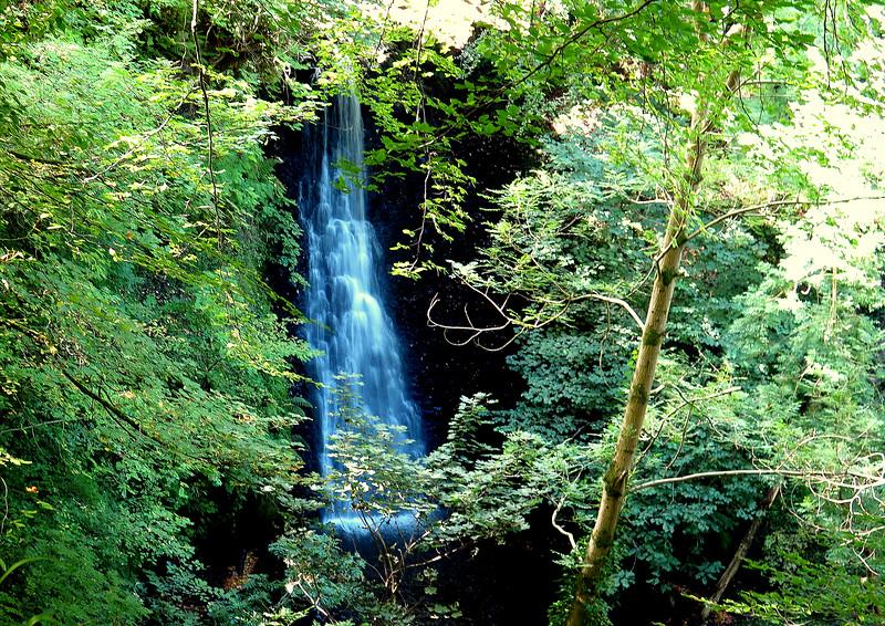 Falling Fosse waterfall.