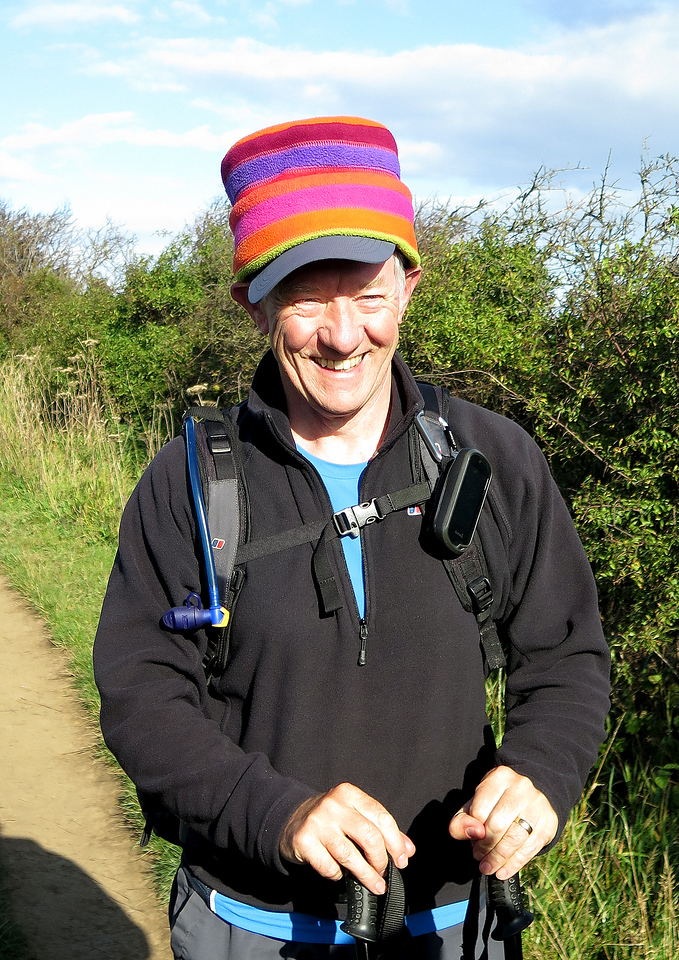 Now Jim takes over - looking quite mischievous in the hat