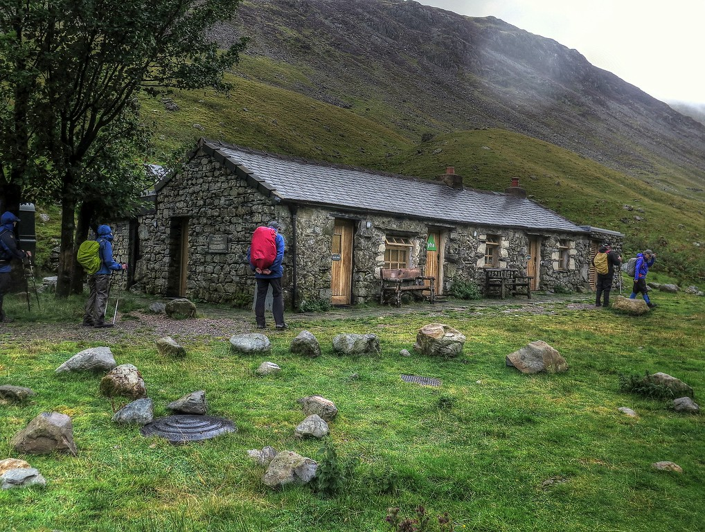 The famous and remote Black Sail Youth Hostel - ideal as a base for exploring the Fells in this area.