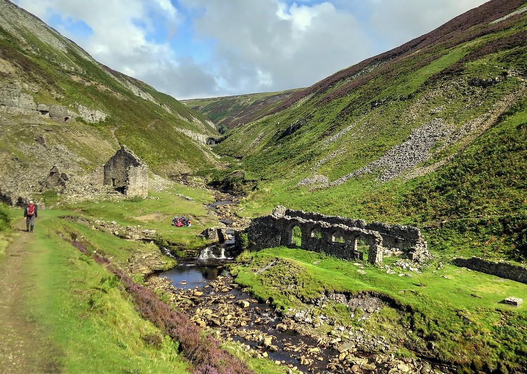 Blakethwaite Smelt Mill, Gunnerside