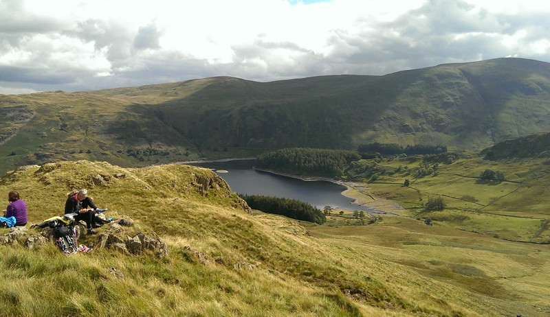 A last lunch in the Lakeland fells.