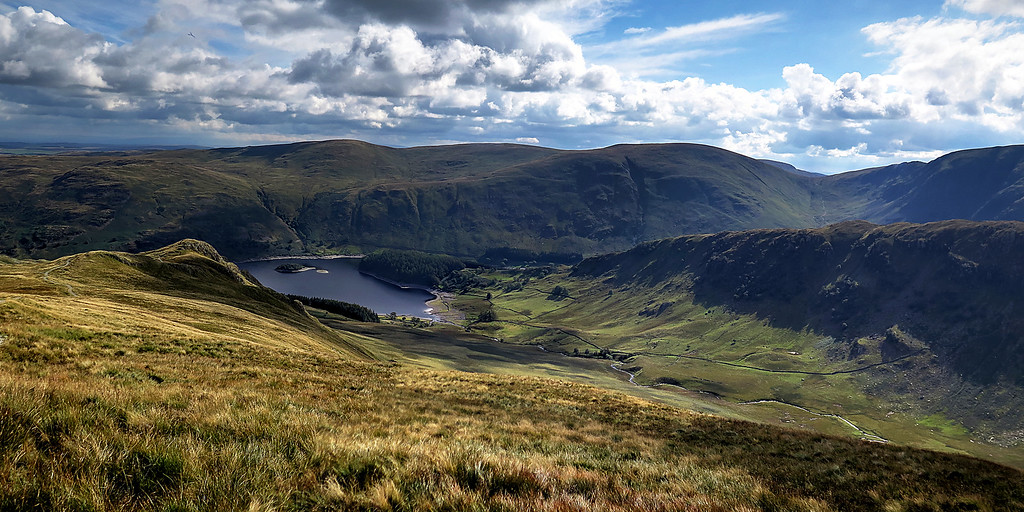 Moving on Haweswater Reservoir awaits us.
