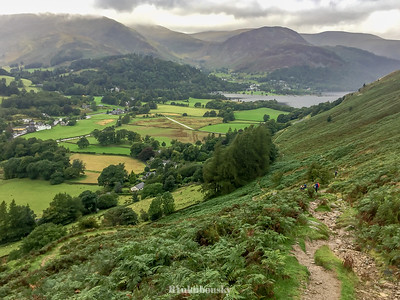 Back on the trail - leaving Patterdale