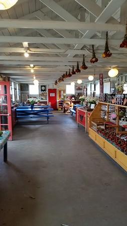 Inside Swanton Farm Store