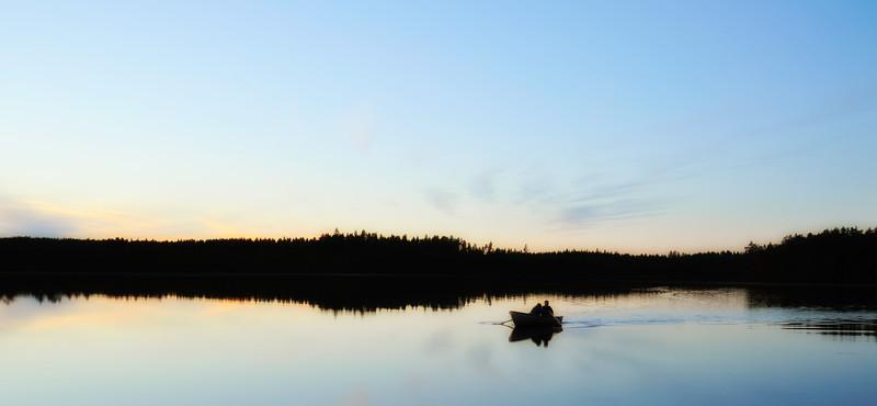 Lake Langen, Sweden.