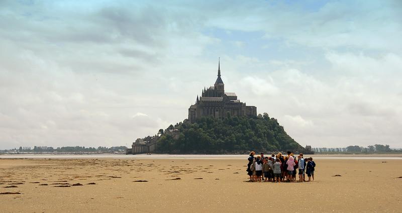 Mont St Michel, Normandy, France.