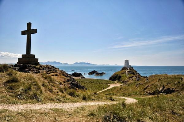 Llanddwyn Island, Anglesey, Wales.