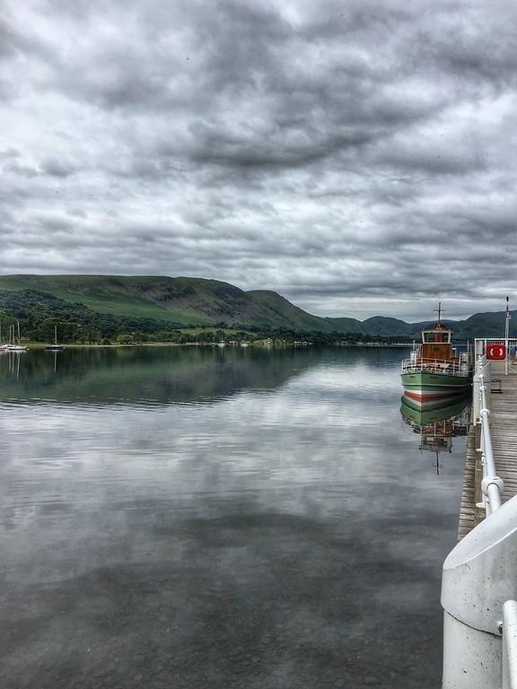 Ullswater, Lake District, England.