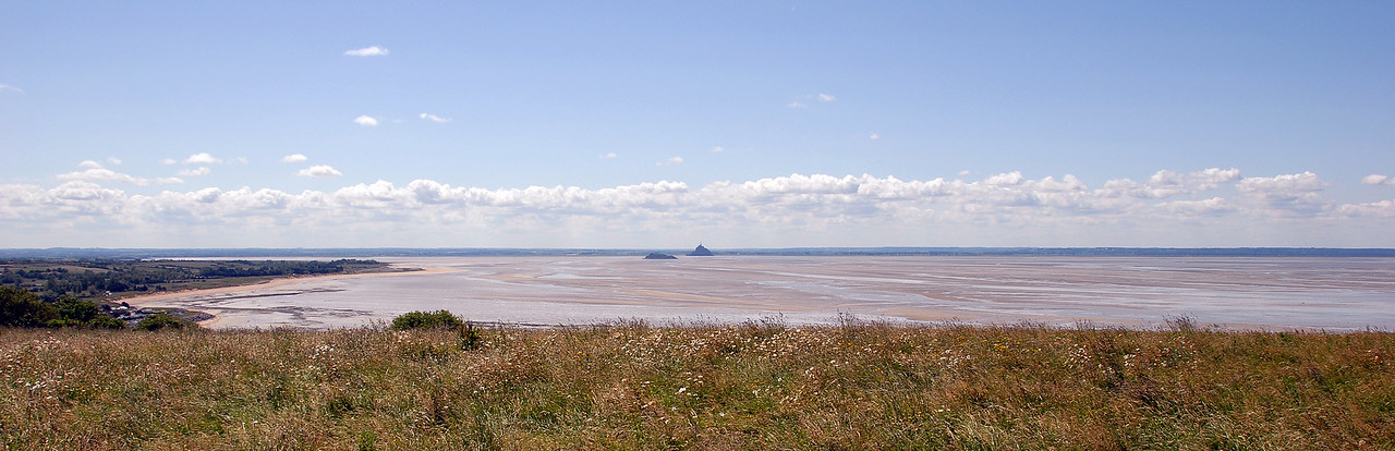 Towards Mont St Michel