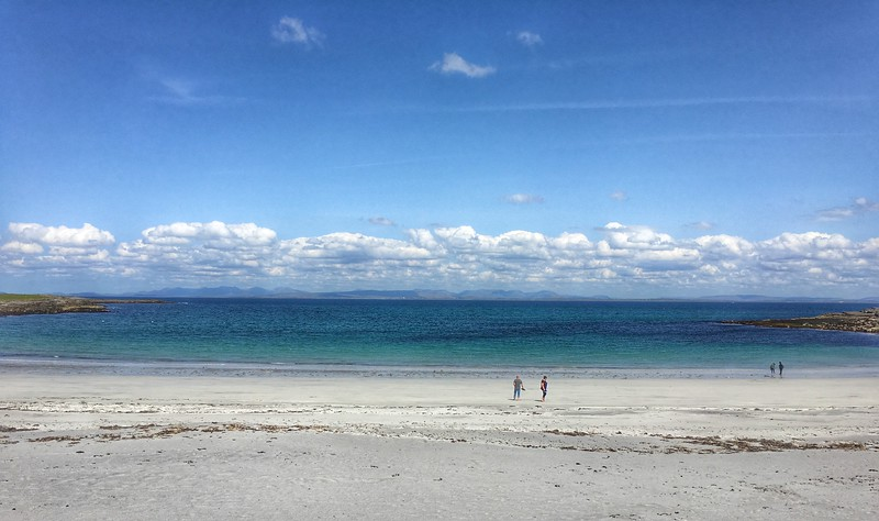 Kilmurvey Beach, Inishmore, County Galway, Ireland.