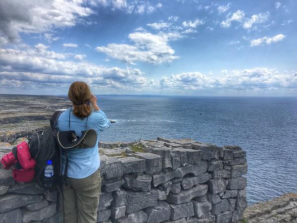 Dun Aonghasa, Kilmurvy, Inishmore, County Galway, Ireland.