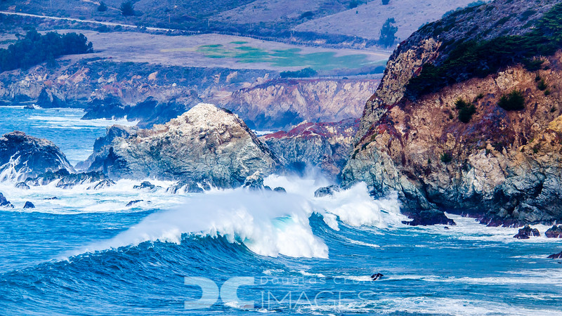 High Surf in Big Sur