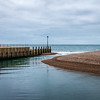Axmouth harbor entrance