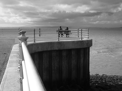Morecambe Pier and Bay