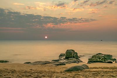 Beach Rocks, Khao Lak, Thailand
