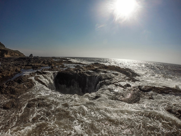 The depth of Thor's Well