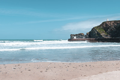Calm Day at Portreath