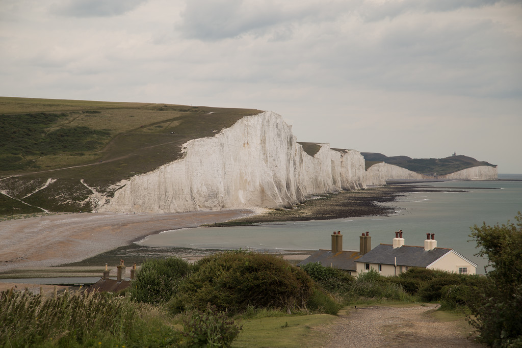 The Fisherman's Cottages with The Seven Sisters 2
