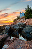 Bass Harbor Sunset