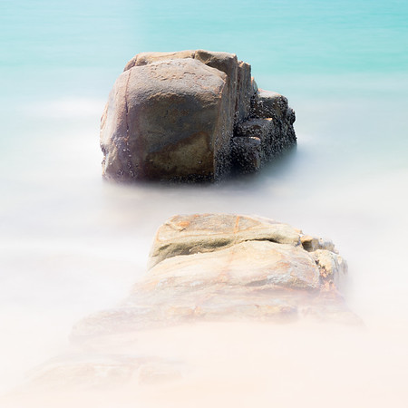 Beach Rocks, Andaman Sea