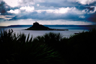 St. Michael's Mount silhouette.