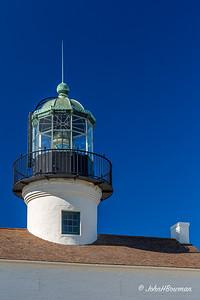 Old Point Loma Lighthouse - Fresnel Lens in Lantern Room