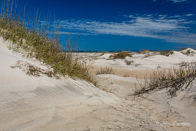 Atlantic Ocean & Dunes, Oregon Inlet Lifesaving Station