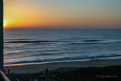 Cloudless Sunrise, Nags Head