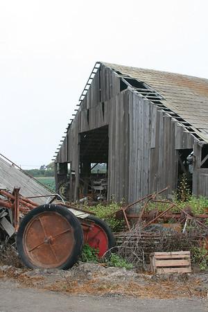 Coastal Barns of California