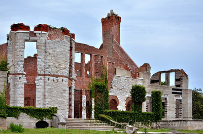 Dungeness ruins, Cumberland Island National Seashore, Georgia