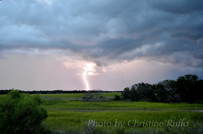 Lightning over Bloody Marsh, St. Simons Island