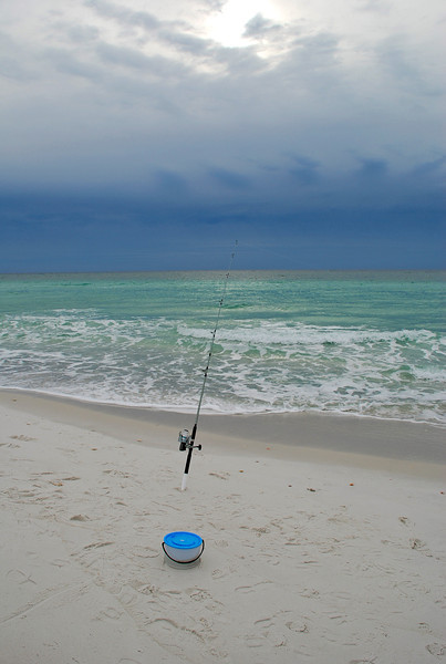 Easy Fishing, Navarre Beach, FL.