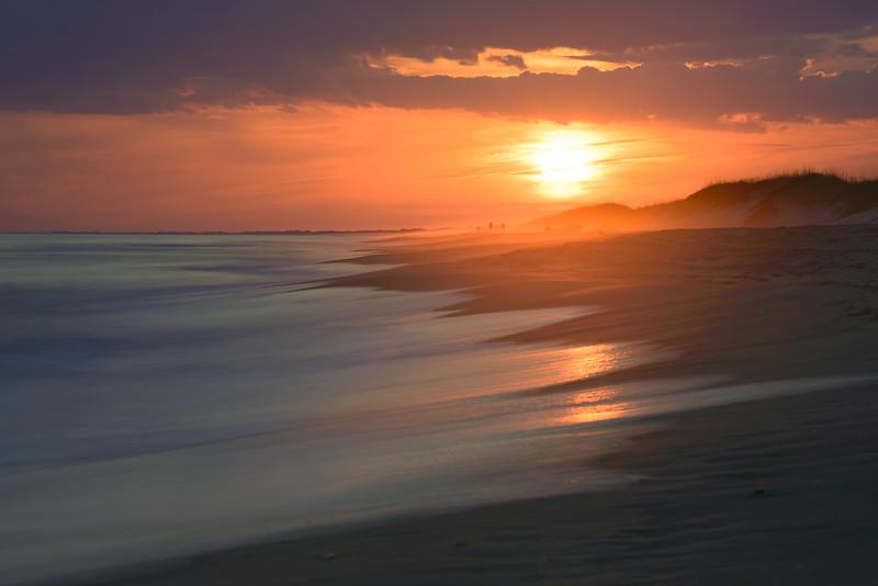 Sunset on Ocrakoke Island #1