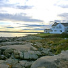 Couple Enjoying Last Light, Still House near York Harbor, ME.