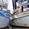 Shrimp Boats in Close Quarters, Apalachicola, FL
