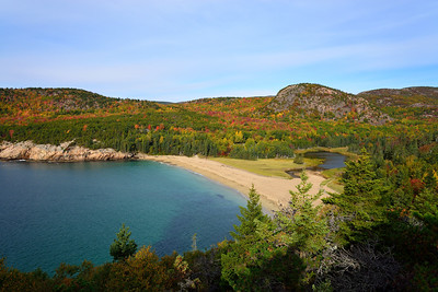 Acadia's Pastel of Colors