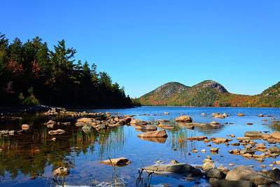 Autumn on the Shores of Jordan Pond