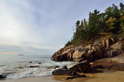 Maine's Rocky Coast Line