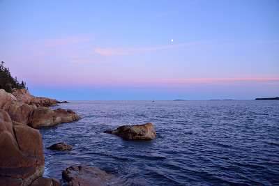 Moon Over Maine