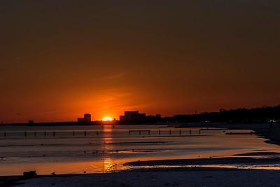 Sunset in Biloxi,MS