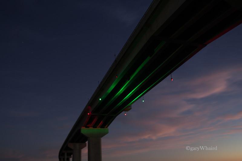 New Bridge After Sunset