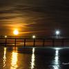 Moonrise over Pier