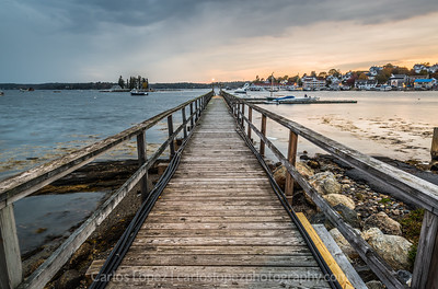 Customer Parking Only - Boothbay Harbor