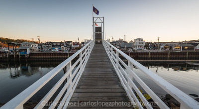 Perkins Cove Footbridge #1