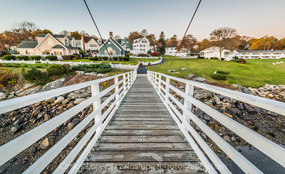 Perkins Cove Footbridge #2