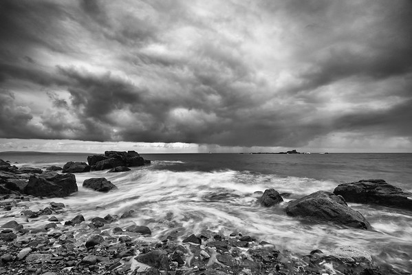 Storm in Mousehole - Cornwall
